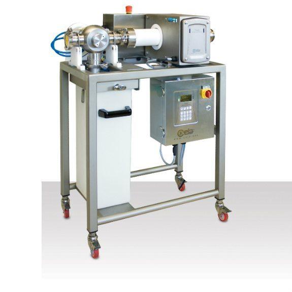 Pipeline metal detector for liquids 575 sq