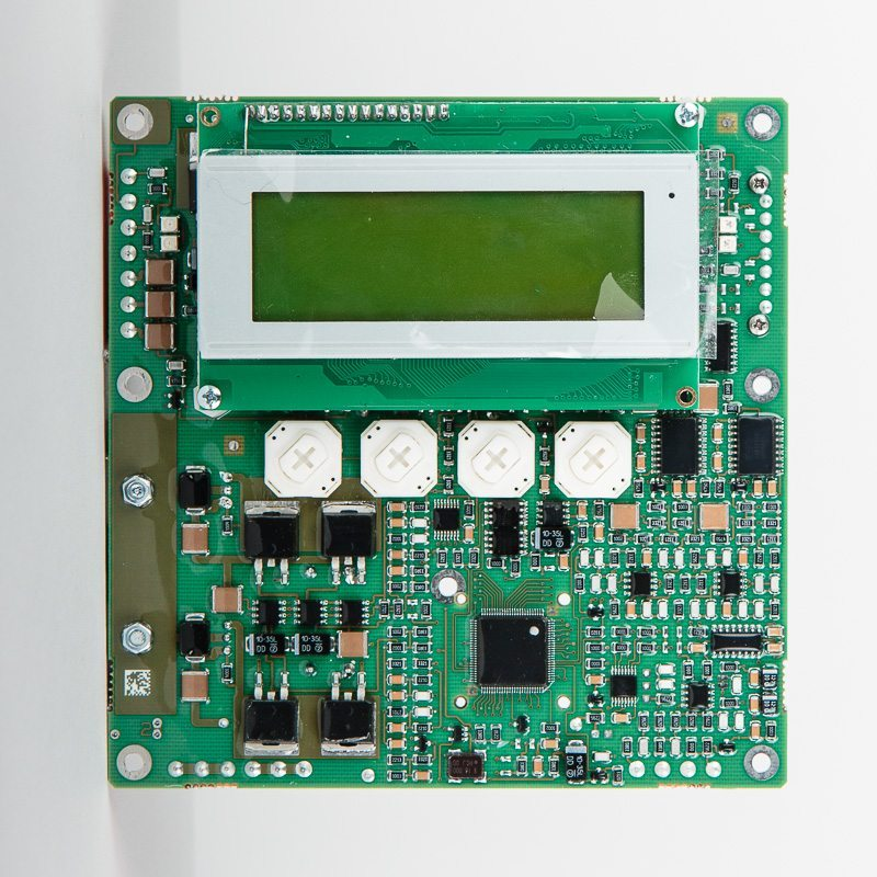 SCD card with LCD display for THS V3<br/>part code 29245 - front view
