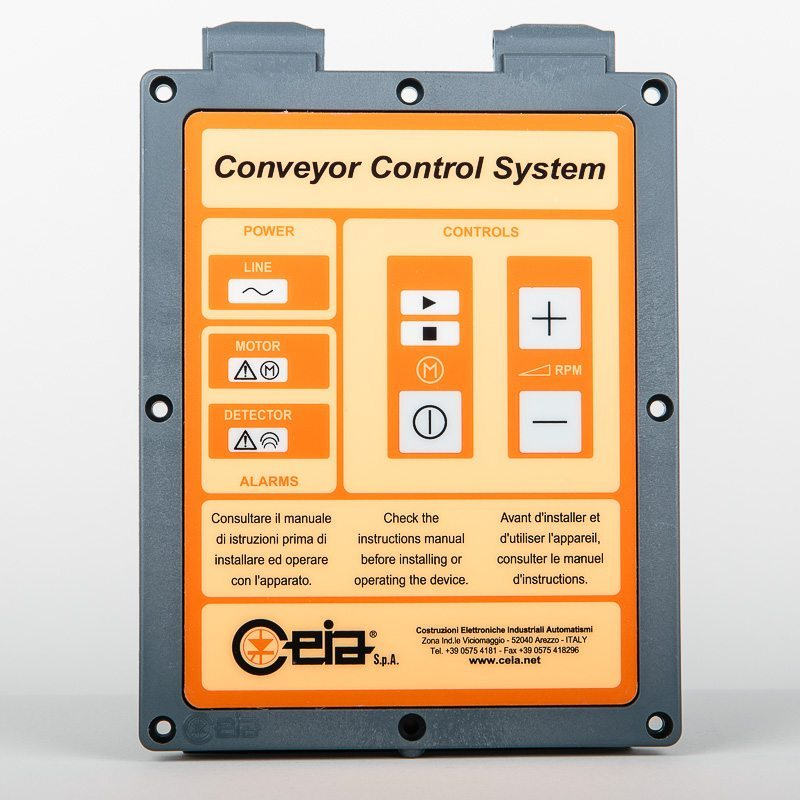 V3 Conveyor control front panel<br/>part code 29957